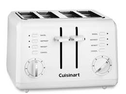 Best Four Slice Toasters Cuisinart White 4 Slice Toaster Best Toaster Reviews