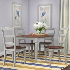 gray dining table with bench grey kitchen dining room sets you ll love wayfair