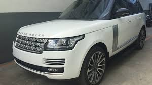 white land rover interior range rover autobiography fuji white interior cherry youtube