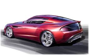 zagato bmw 2012 bmw zagato coupe sketch design дизайн рисунок