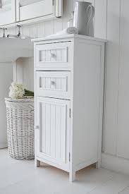 White Bathroom Storage Drawers White Bathroom Storage Cabinet With Drawer Aeroapp