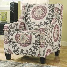 Ashley Furniture Accent Chairs Ashley Furniture Dinelli Contemporary Floral Accent Chair