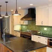 Soapstone Subway Tile Louisville Handmade Subway Tile Kitchen Eclectic With Brazilian
