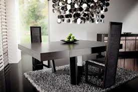 black and silver dining room set inspiring goodly black and silver