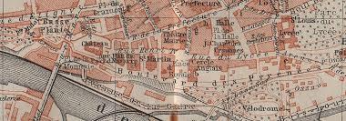 bureau vall pau pau antique town city plan de la ville pyr n es atlantiques carte
