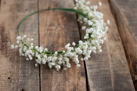 baby s breath flowers baby s breath crown this heart of mine