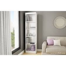 5 Shelves Bookcase 5 Shelf White Bookcase Best Shower Collection