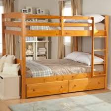 Bunkhouse Full Size Bunk Bed The Bunkhouse Collection By Trendwood - Full sized bunk beds