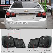 2014 cruze tail lights limited edition bmw f10 style black bezel led tail light fit chevy