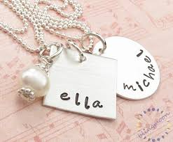 custom necklace charms sterling silver jewelry personalized necklace custom engraved