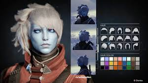 destiny awoken female hairstyles what your hair looks like from