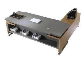 Bureau Desk Modern Luxury Modern Office Furniture Executive Desk W11 Ceo Pu