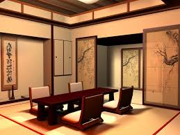 gorgeous japanese style dining room feat feng shui decorating also