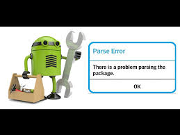 problem parsing apk there was a problem parsing the package fixed v1