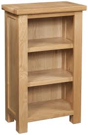 narrow bookcase with drawers abbey oak small bookcase