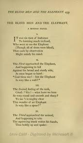 Blind Men And The Elephant Poem Page The Poems Of John Godfrey Saxe Djvu 279 Wikisource The