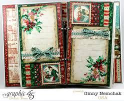 A Christmas Carol Ornaments Christmas Carol Mini Album 3 Polly U0027s Paper Studio