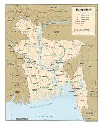 Picture Of Map Map Of Bangladesh Political Map Worldofmaps Net Online Maps
