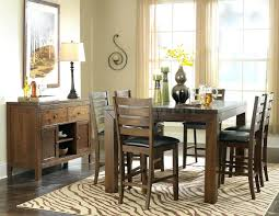 Tall Dining Room Sets Modern Counter Height Dining Table Furniture Of America Rathbun