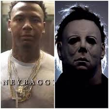 Michael Myers Memes - famous yp moneybagg yo out here looking like michael facebook