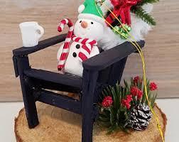 Miniature Adirondack Chair Miniature Adirondack Etsy