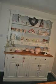 hand painted dresser cream solid pine 5ft welsh dresser sideboard
