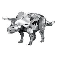 aluminum gifts triceratops aluminum dinosaur kit w64029t gifts