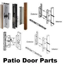 Patio Glass Door Repair Sliding Glass Door Parts Unique Chic Patio Sliding Door
