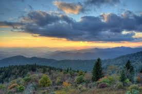 blue ridge parkway fall colors picture north carolina
