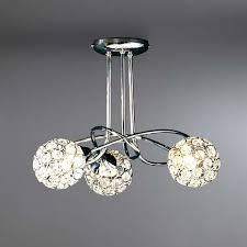 Sphere Ceiling Light Lovely Design 3 Light Ceiling Stunning Ideas Sphere Chrome Fitting