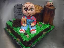 chucky halloween birthday cake cakecentral com