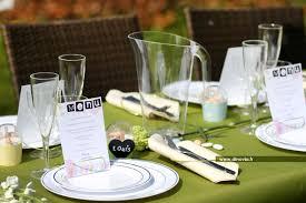 assiette jetable mariage décoration de mariage en pastel de la table recettes