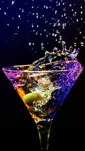 red martini splash martini cocktail alcohol splash drops olive android wallpaper free