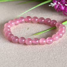 rose quartz beads bracelet images High quality genuine natural madagascar rose quartz pink crystal jpg