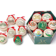 12 days of christmas ornaments 12 days of christmas ornament set