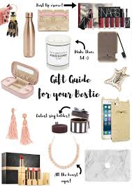 gift guide for your bestie gifts ideas for everyone on your list