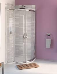 aqua 6 quadrant shower enclosure 900mm polished silver