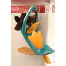 disney park authentic phineas and ferb perry the platypus figurine