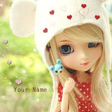 write barbie doll picture