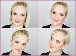 Frisuren F Kurze Haare Zum Selber Machen by Einfache Flechtfrisur Für Kurze Haare