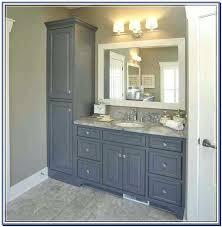 Bathroom Vanity Storage Bathroom Vanity Towers Vanity With Center Tower Bathroom