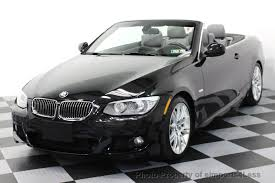 2012 bmw 335i 2012 used bmw 3 series certified 335i m sport convertible 6 speed