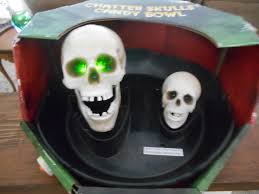 image gemmy animated chatter skulls candy bowl motion