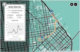 Boston Bike Map by Bay Area Bike Share Interactive Map Visual Ly
