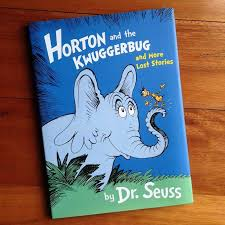 horton kwuggerbug lost stories u2013 dr seuss book