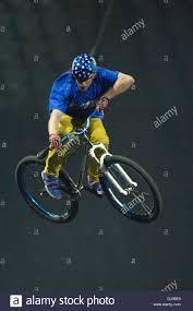 freestyle motocross tricks oslo norway 21st november 2013 bmx rider performs freestyle