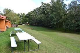 amenities hiawatha lodge inn backyard view from lakeside rooms