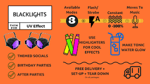 how much are black lights black light rentals winnipeg spark rentals inc