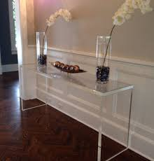 Plastic Console Table Post Taged With Clear Plastic Console Table