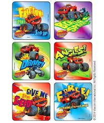 blaze u0026 monster machines blazing speed foil stickers kids